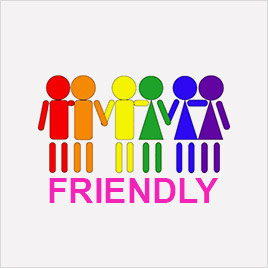 logo gay friendly