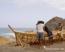 Santo Antão - Charpentier de barque de pêche