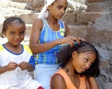 Cap Vert - Coiffures et tresses - Tradition