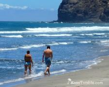 Santo Antão - Cruzinha - Une rando - Des plages