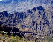Santo Antão - Vallée verticale de Alto Mira