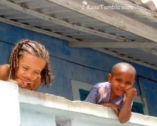 Cap Vert - Ponta do Sol - Des enfants heureux