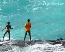 Santo Antão - Ponta do Sol - Pêche au Bord Artisanale