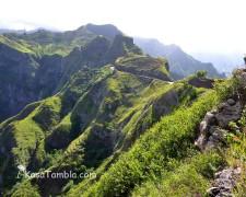 Santo Antão - Route panoramique de corda